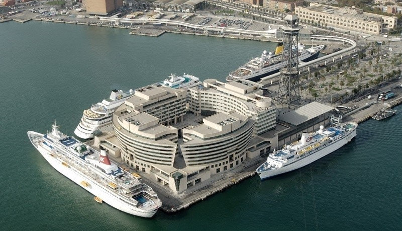 Crucero barcelona puerto