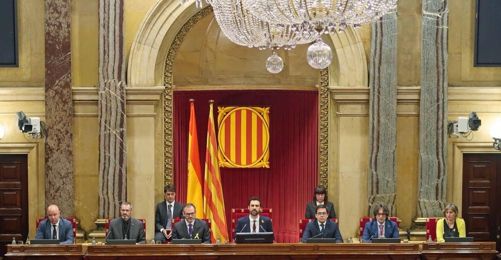 La nueva Mesa del Parlament de Catalunya