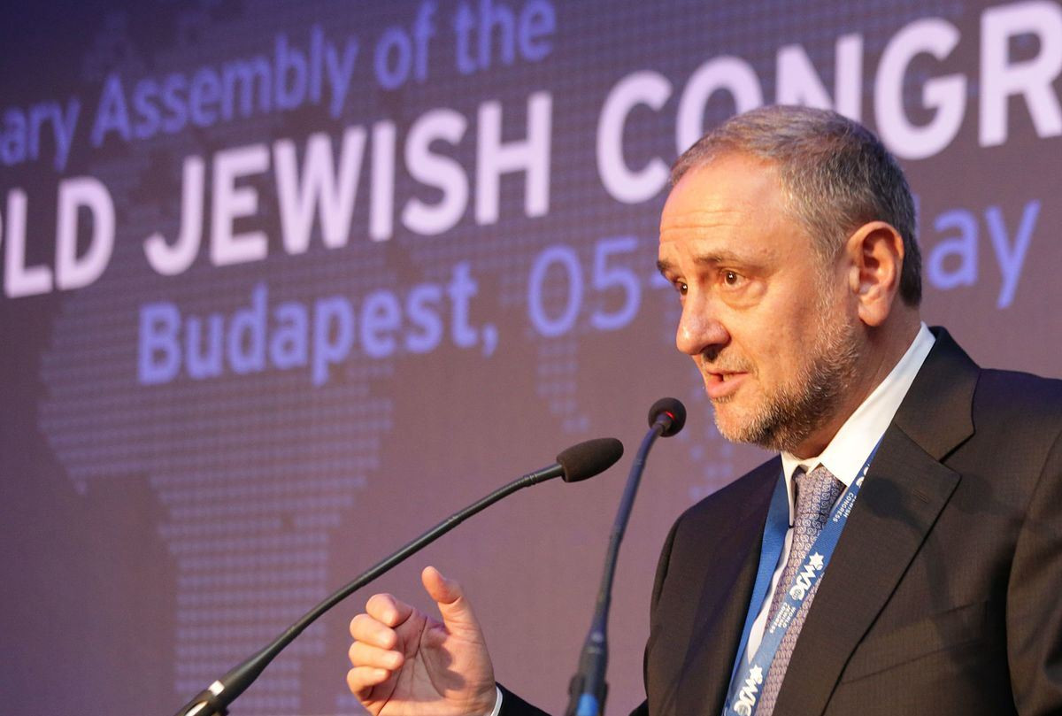 Robert Singer World Jewish Congress CEO