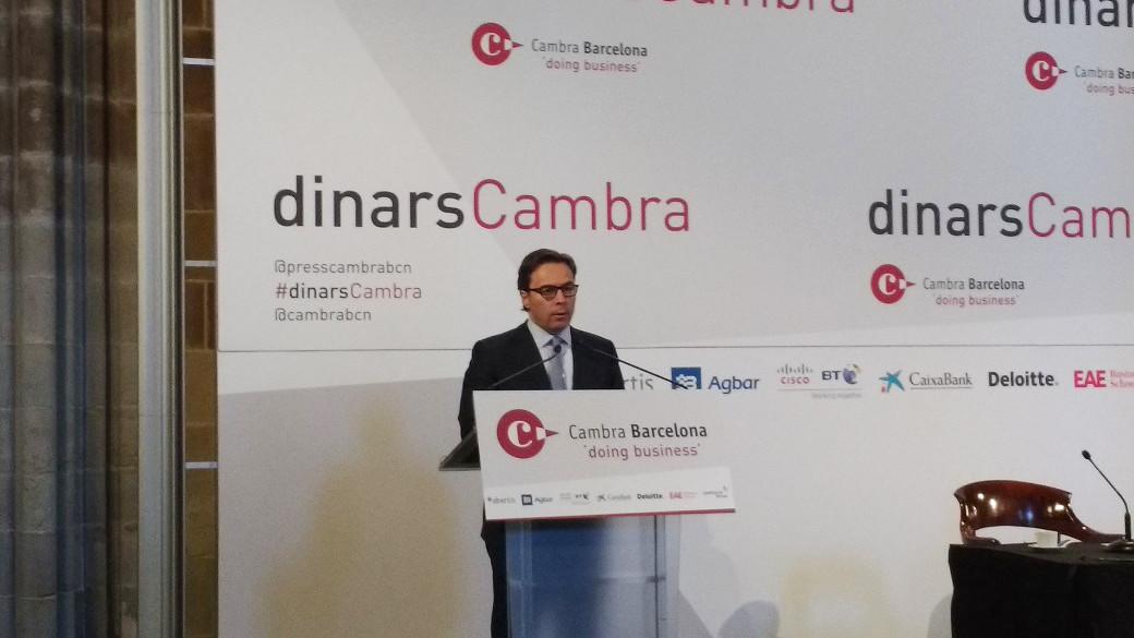 Dimas Gimeno, presidente de El Corte Inglu00e9s
