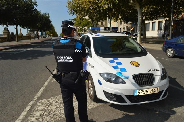 Policía local concentraciones