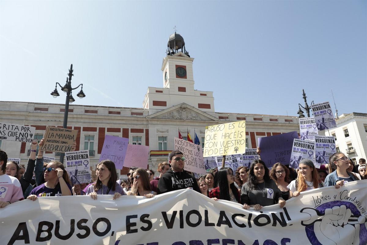 Protesta manada abuso violaciu00f3n 10052018