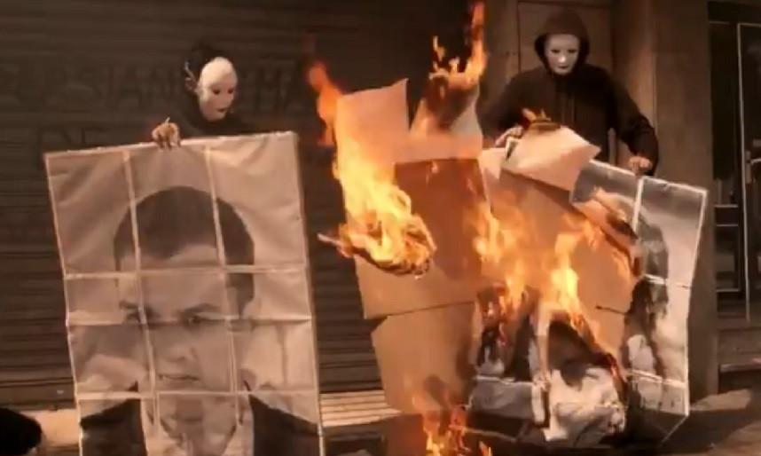 Arran quemar fotos 21052018