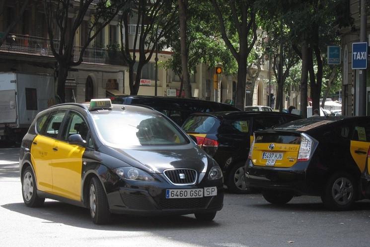 Taxi taxistas barcelona 23052018