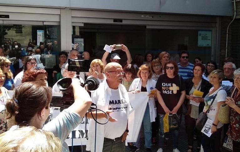 Sanitarios catalanes listas de espera concentraciu00f3n 24052018