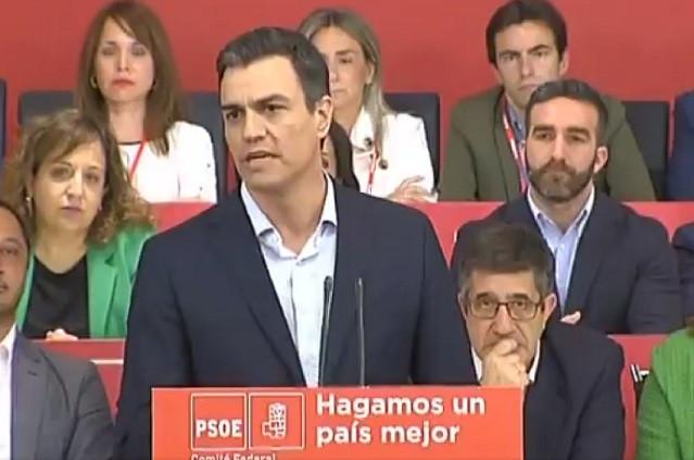 Pedro su00e1nchez 28052018 comitu00e9