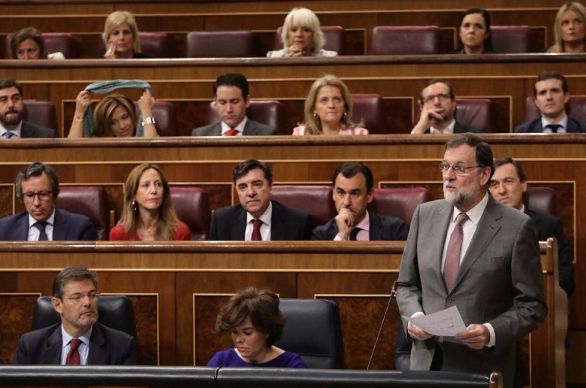 Rajoy sesiu00f3n control 30052018