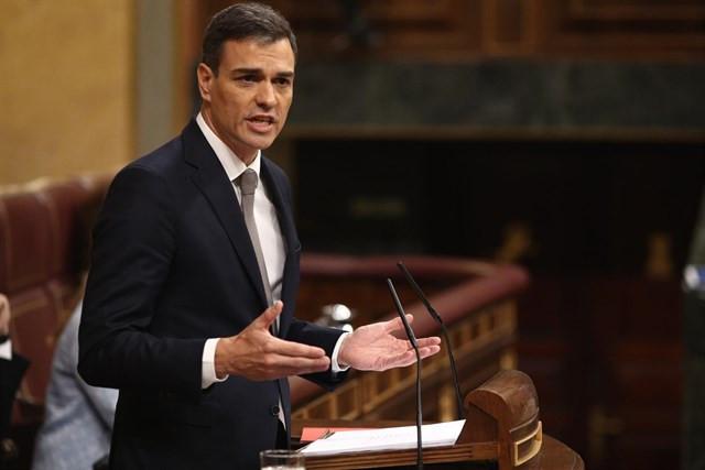 Pedro sanchez mocion censura psoe contra rajoy