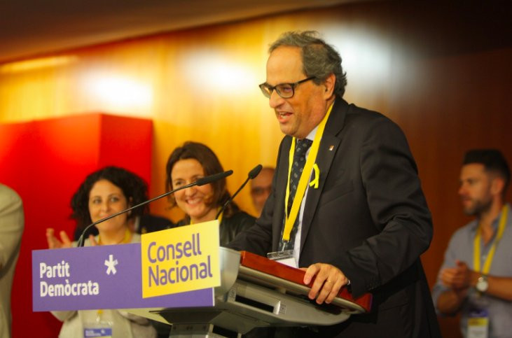 Quim torra consell pdecat 01062018