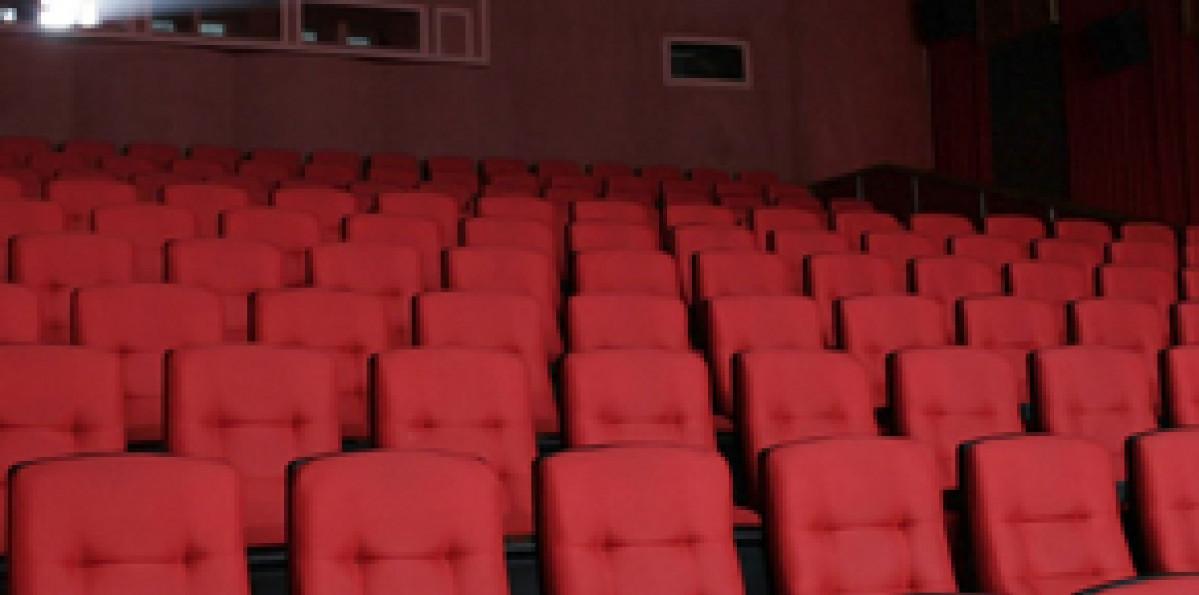Cine Ritz Divinópolis   interior da sala