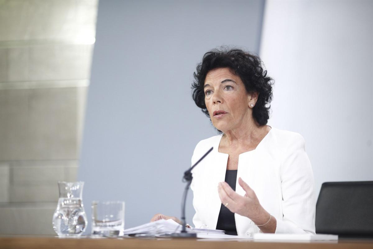 Isabel celaá consejo de ministros