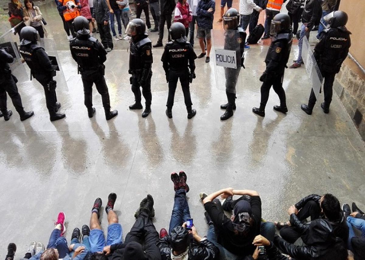 Policía nacional referéndum 1 de octubre actuación policial 1 O 04092018