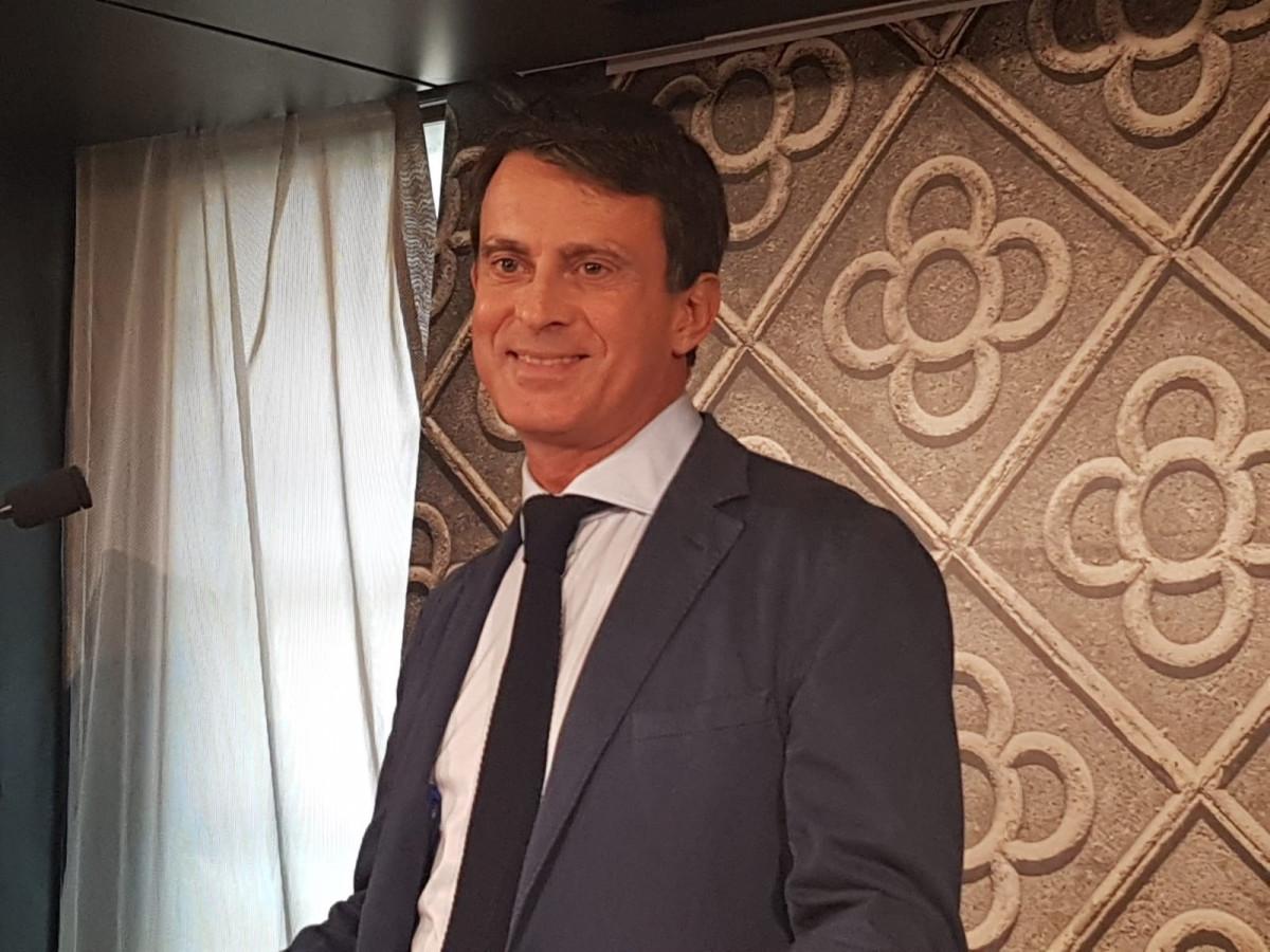 Manuel valls candidato a la alcaldía