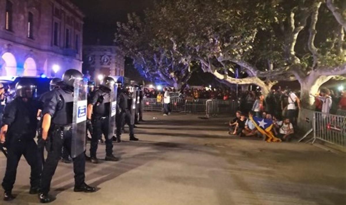 Antidistrubios urbana de Barcelona