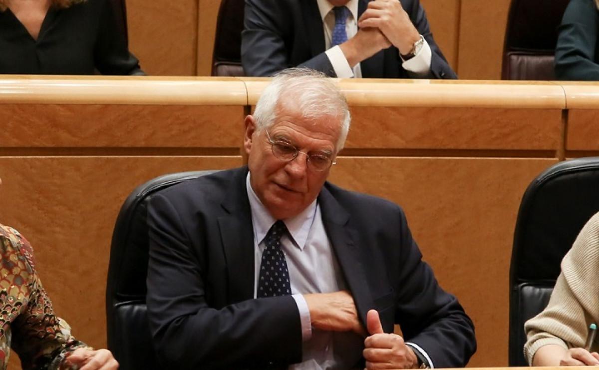 Josep Borrell en el Congreso