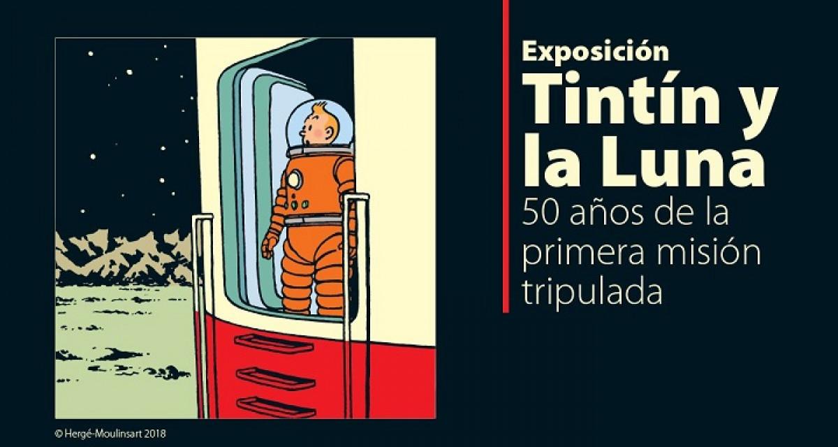 'Aterrizaje En La Luna' De Hergu00e9. COSMOCAIXA   MUSEO HERGu00c9