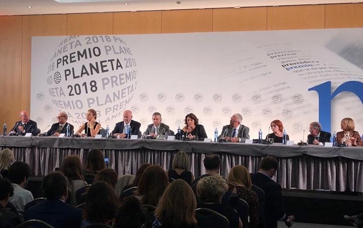 Rueda de prensa del Premio Planeta 2018
