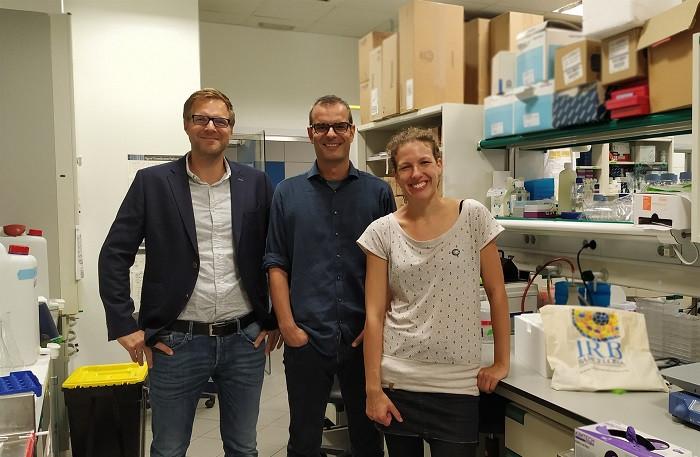 Investigadores del IRB Barcelona y el CNAG CRG S.Aznar, H.Heyn y M.Salzer IRB BARCELONA