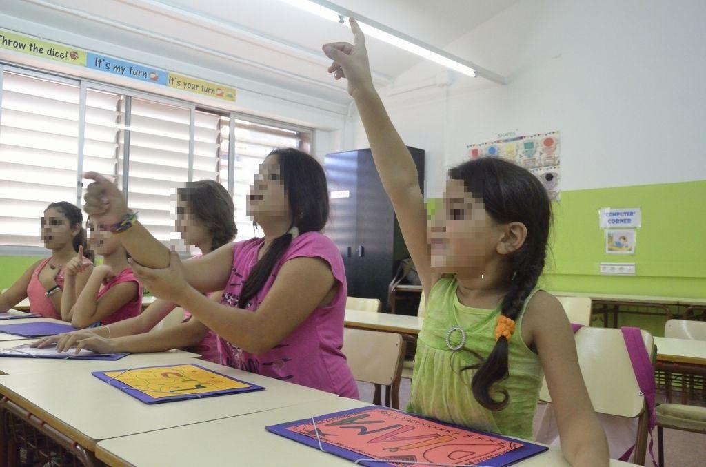 Secretario Gitano, Espacio de refuerzo escolar en Badalona, en el curso escolar 2014 2015