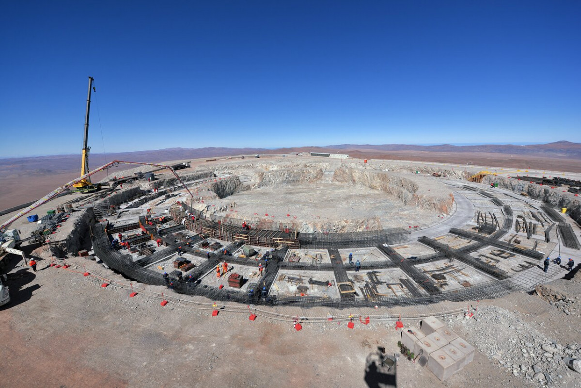 Construcciu00f3n del Extremely Large Telescope