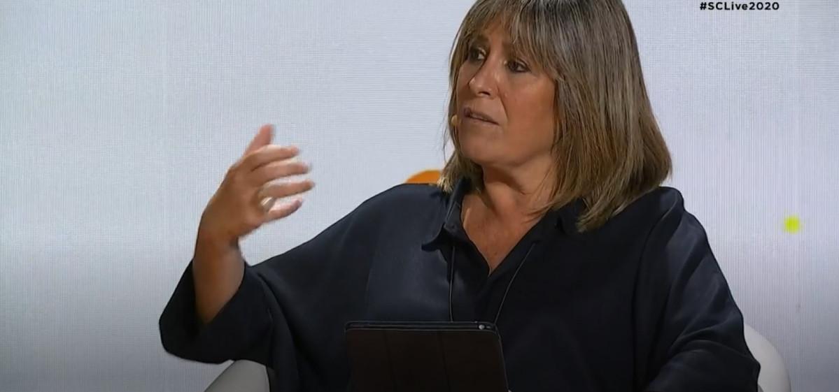 La alcaldesa de L'Hospitalet de Llobregat (Barcelona) y presidenta de la Diputación de Barcelona, Núria Marín, participa en el Smart City Live 2020