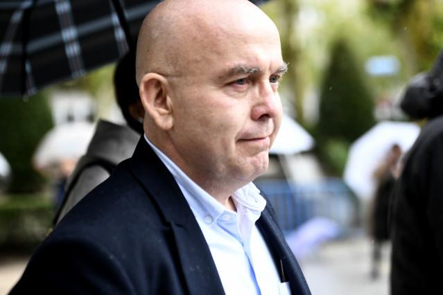 El abogado Gonzalo Boye, a su llegada a la Audiencia Nacional