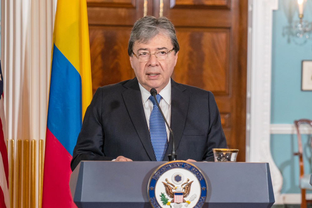 EuropaPress 2418713 handout 09 october 2019 us washington colombian foreign minister carlos