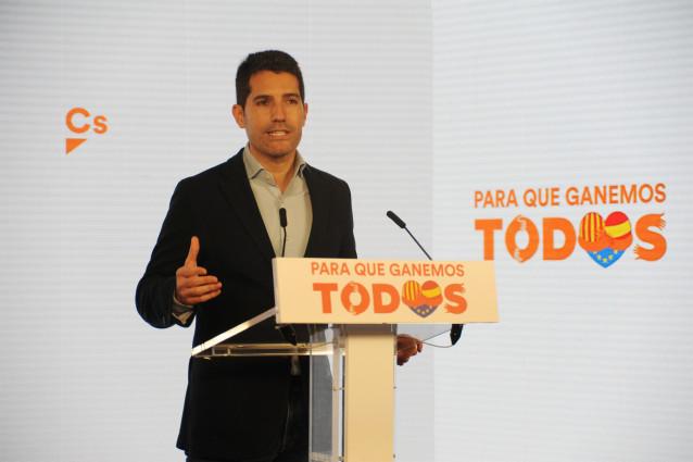 El número 3 de Cs para el 14F, Nacho Martín Blanco