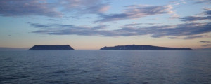 Diomede Islands Bering Sea Jul 2006