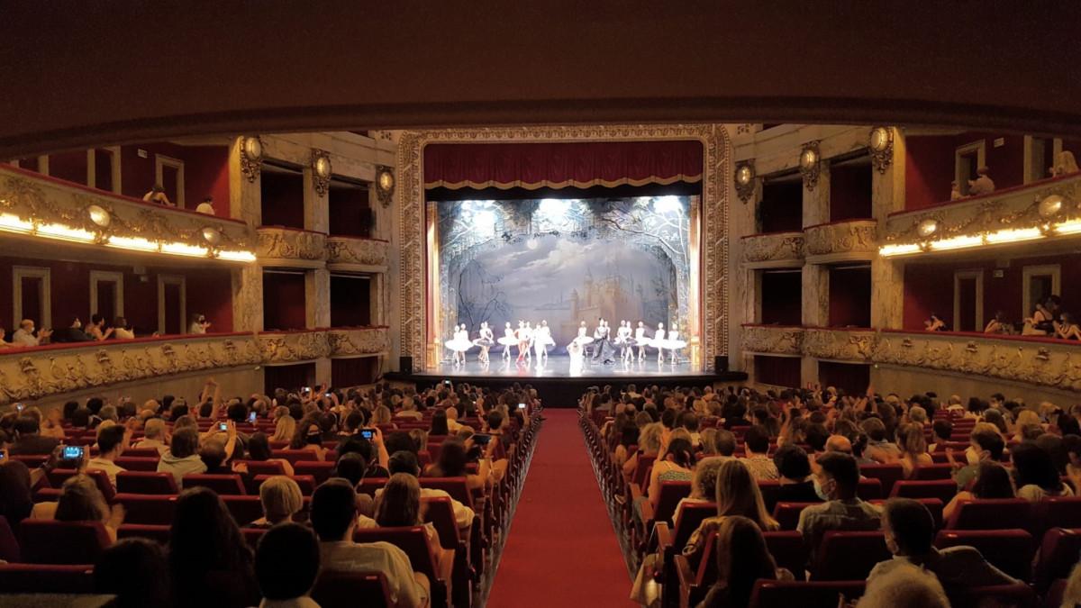 El Ballet de Moscú en el Teatre Tívoli de Barcelona.