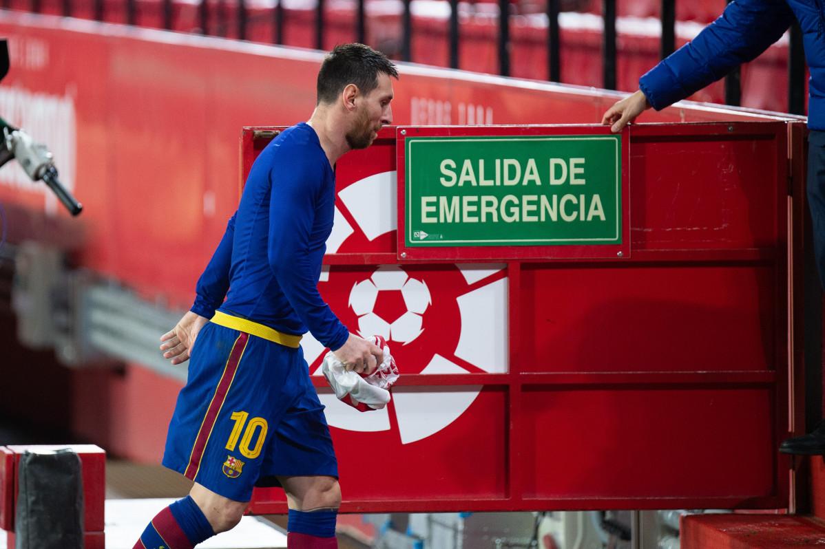 Archivo - Lionel Messi deja el FC Barcelona