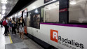Retrasos de media hora en cinco líneas de Rodalies por un atropello en Plaça Catalunya