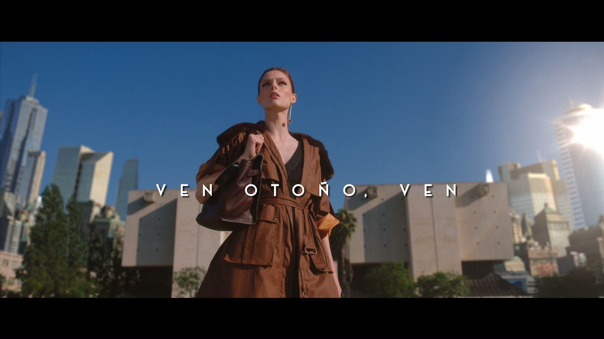 34f56411ccee Coco Rocha, protagonista de la campaña de otoño de El Corte Inglés