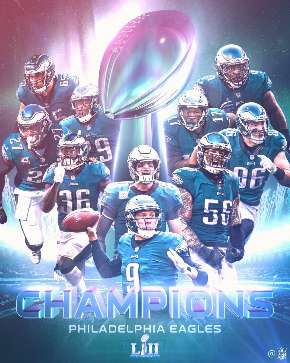 Los Eagles de Filadelfia hacen historia en la Super Bowl