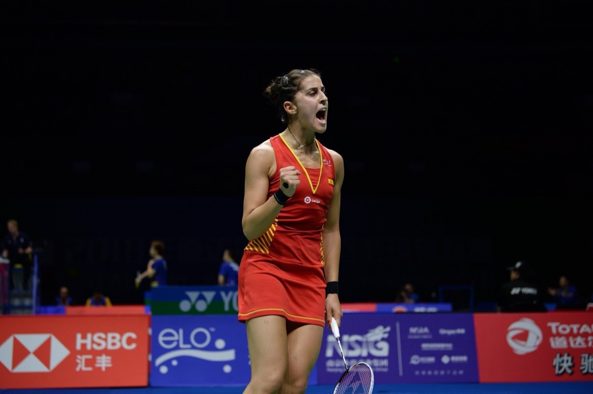Carolina maru00edn badminton