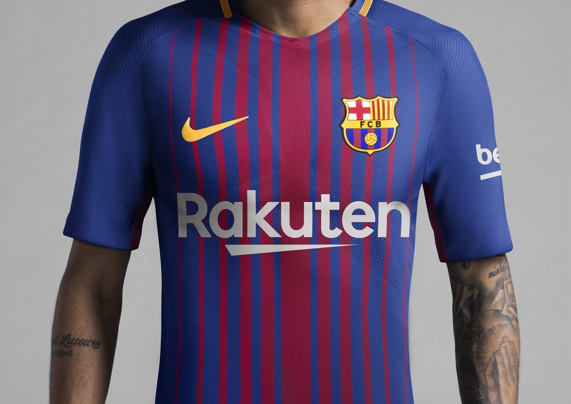 Presentada la nueva equipación del FC Barcelona 650d9b6d661ae