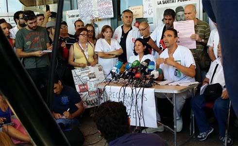#RebeliónBellvitge: ?La Generalitat miento cuando asegura que no hay dinero para la sanidad pública?